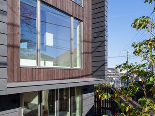HAN環境・建築設計事務所 Passiefhuis Metaal Zwart
