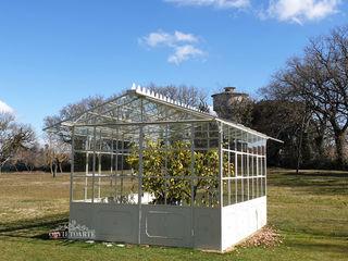 Orvieto Arte Industrial style conservatory Iron/Steel White