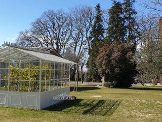 Orvieto Arte Casetas de jardín Hierro/Acero Blanco