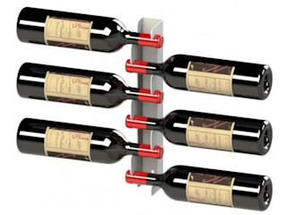 Garrafeiros - Adegas para Vinho Bodegas modernas Hierro/Acero Blanco
