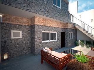 D4-Arquitectos Casitas de jardín Piedra Gris