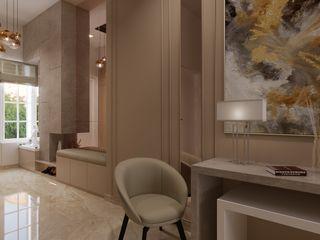 De Panache Modern Living Room MDF Beige