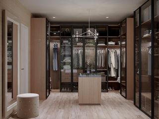 De Panache Modern Dressing Room Glass Beige