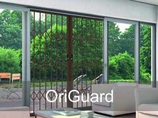Practical & User-Friendly Retractable Security Gates For Your Home Origin Aluminium (Pty) Ltd Patios Aluminium/Zinc