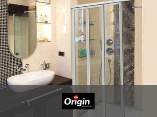 Aluminium Shower Door Types - Which One Fits Best? Origin Aluminium (Pty) Ltd Modern bathroom Aluminium/Zinc