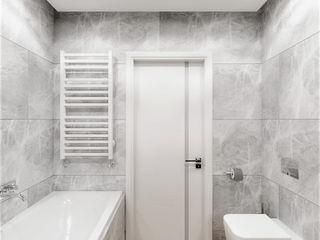 Wkwadrat Architekt Wnętrz Toruń Modern bathroom Stone White