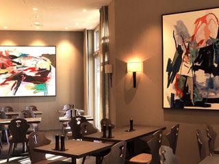 Kunstkonzept Swiss Mountain Hotel Davos MARKUS HILZINGER Kunst Bilder & Gemälde