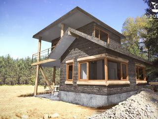 NidoSur Arquitectos - Valdivia Casas de madera