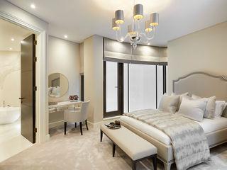 Shepherds Market, Mayfair Celine Interior Design BedroomBeds & headboards