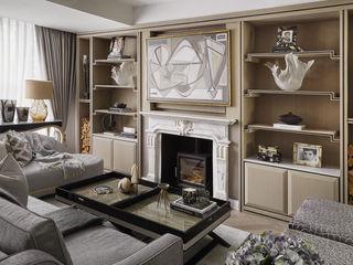 Chiddingstone, Fulham Celine Interior Design Classic style living room