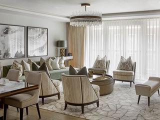 Thomas Earle, Kensington Celine Interior Design Living roomSofas & armchairs
