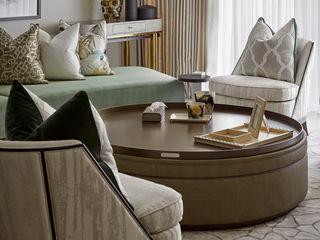 Thomas Earle, Kensington Celine Interior Design Living roomSide tables & trays