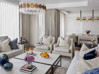 Belvedere Gardens, Westminster Celine Interior Design Living roomSofas & armchairs