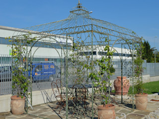 Orvieto Arte Garden Greenhouses & pavilions Iron/Steel Green