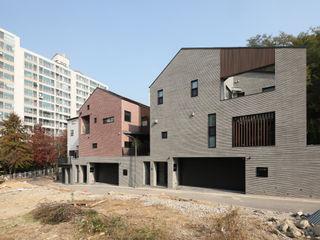 용인 수지구 죽전동 '수지두집' 주택설계전문 디자인그룹 홈스타일토토 목조 주택 타일 멀티 컬러