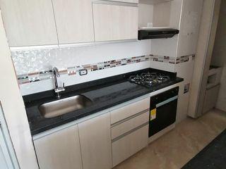 Proyecto de carpintería realizado en Ciudad Pacífica cali conjunto residencial cielos Cocinas integrales AC Cocinas integrales