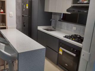 proyecto realizado en ciudad pacifica cali en la unidad acuarela II Cocinas integrales AC CocinaAlmacenamiento y despensa