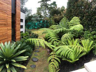 URRETA Arquitectura del Paisaje Tropical style garden