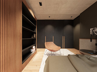 Saulo Magno Arquiteto Minimalist bedroom