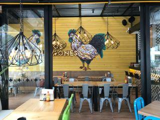 Ecologik Ruang Komersial Modern Yellow