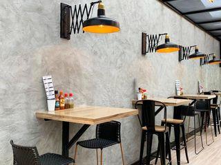 Ecologik Ruang Komersial Modern Grey