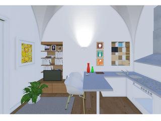 Studio Dalla Vecchia Architetti Küçük Mutfak