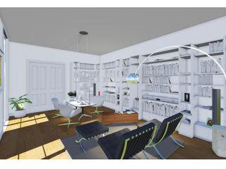 Studio Dalla Vecchia Architetti Modern Çalışma Odası