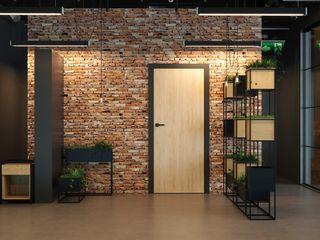 InPortas Corridor, hallway & stairs Accessories & decoration Wood Wood effect