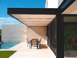 V+3 Arquitectos Single family home Marble Beige