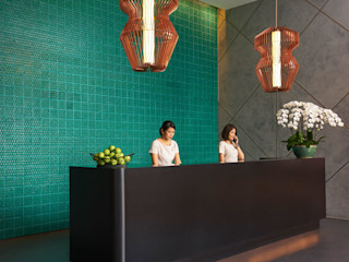 Domenico Mori Asian style walls & floors