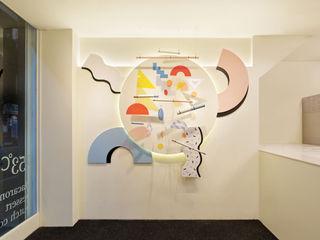 원더러스트 现代客厅設計點子、靈感 & 圖片 MDF White