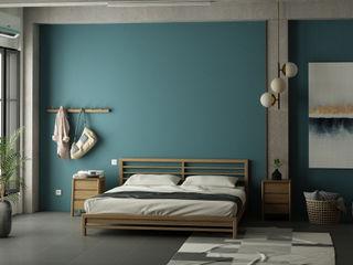 15 mẫu thiết kế phòng ngủ đẹp cho mùa hè mát mẻ Công ty TNHH Tư vấn thiết kế xây dựng An Khoa Phòng ngủ nhỏ Gỗ thiết kế Blue