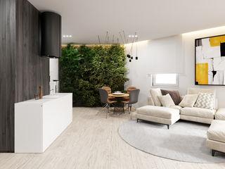 Ale design Grzegorz Grzywacz Modern dining room Black