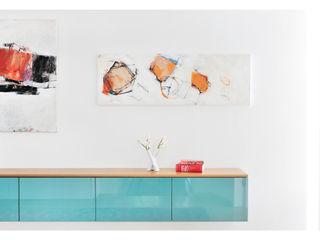 Heerwagen Design Consulting Eclectic style corridor, hallway & stairs