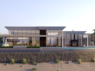 Architectural 3D Exterior Rendering Services LAS VEGAS NEVADA USA JMSD Consultant - 3D Architectural Visualization Studio ArtworkOther artistic objects Glass White