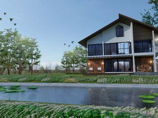 Pilaster Studio Design Detached home