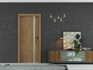 InPortas Corridor, hallway & stairs Accessories & decoration Engineered Wood Brown