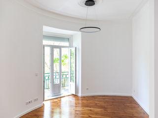 Decor-in, Lda Modern living room Wood White