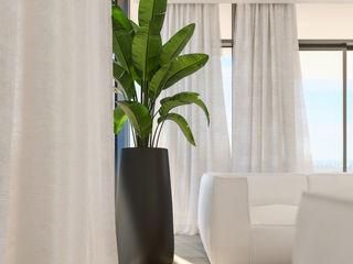 Deborah Garth Interior Design International (Pty)Ltd 现代客厅設計點子、靈感 & 圖片