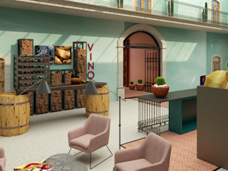 CONCEPTO JORU Eclectic style hotels Turquoise