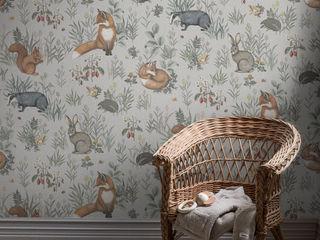 Verträumte KinderzimmerTapeten von Borås in der Tapetenkollektion NEWBIE Tapeten & Uhren Wände & BodenTapeten