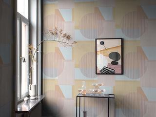 Elegante Retrotapeten in der Tapetenkollektion THE APARTMENT von Boråstapeter Tapeten & Uhren Wände & BodenTapeten