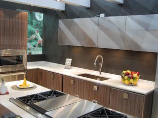 Cocinas Ferreti, Modulform Cozinhas embutidas de madeira e plástico Efeito de madeira