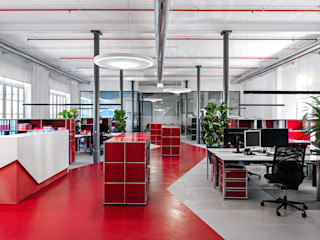 Office Design, Lugano MD Creative Lab - Architettura & Design Studio in stile industriale