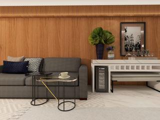 ZOMA Arquitetura Salas de estar modernas