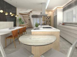 ZOMA Arquitetura Armários de cozinha
