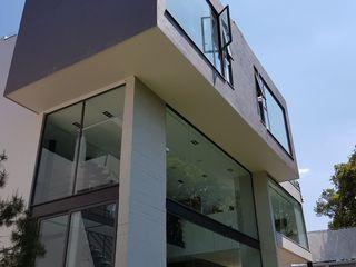 Merkalum Jendela plastik Aluminium/Seng Black