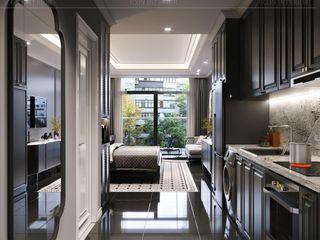STUDIO MASTERI MILLENIUM -2 Thiết kế nội thất ICONINTERIOR Phòng khách