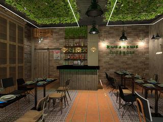 Infografías para proyecto de ampliación de Restaurante ESTUDIO FRANCIA INTERIORISMO