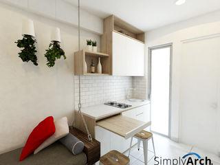Dapur Simple Elegan Simply Arch. Dapur Modern